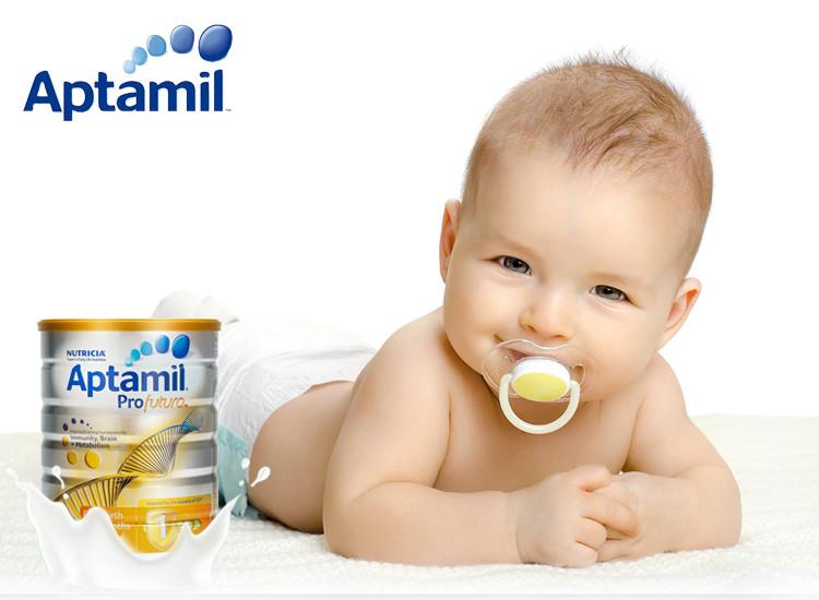 【直邮】Aptamil 澳洲爱他美 白金装婴幼儿配方奶粉(1段) 900g